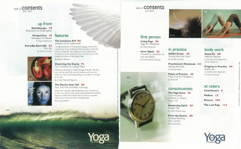 YI Magazine Issue 72: July 2003