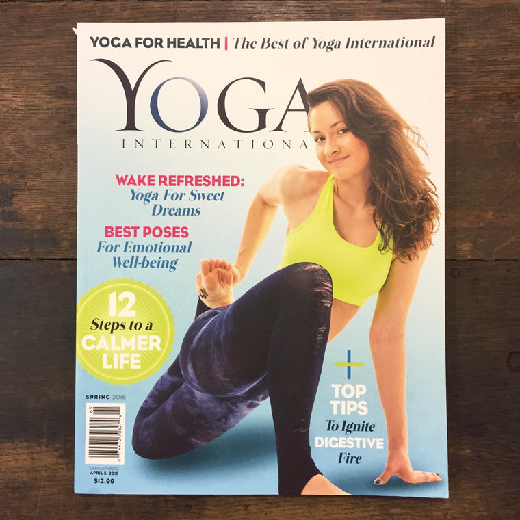 Best of YI Magazine: Yoga for Health (Spring 2016)