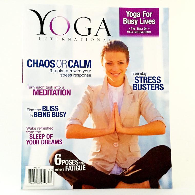 Best of YI Magazine: Yoga for Busy Lives (Spring 2015)