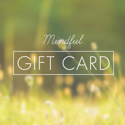 Mindful Gift Card