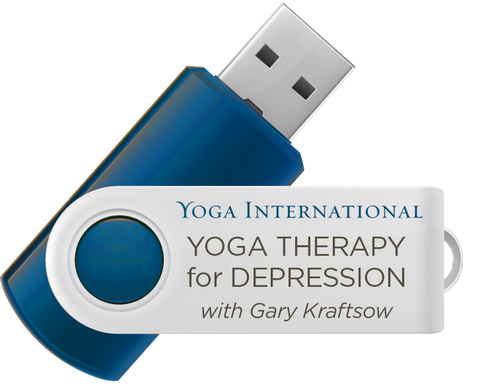 Yoga Therapy for Depression USB