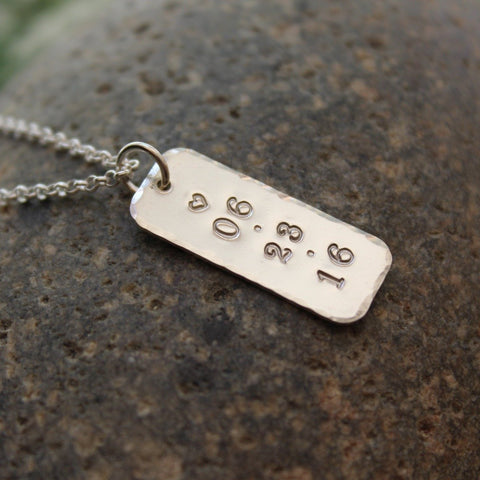 A Date to Remember Necklace