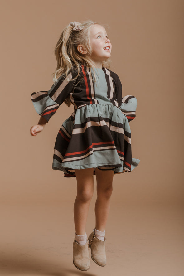 MINI Serena Striped Dress - SLIGHTLY IMPERFECT