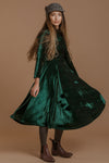 La La Lady Dress In Emerald