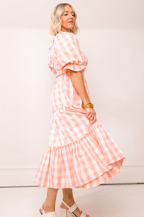 MIA GINGHAM DRESS