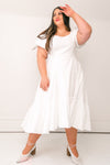 DAHLIA DRESS IN WHITE