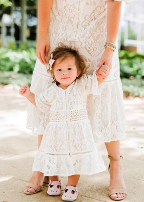 Mini Monroe Lace Dress