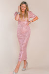 STARLING DRESS IN PINK
