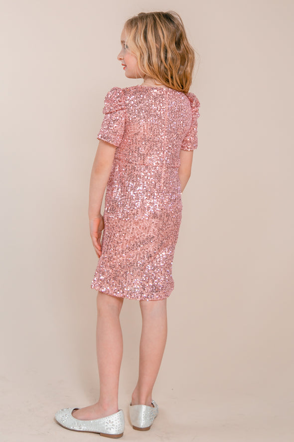 MINI STARLING DRESS IN PINK