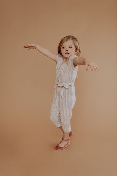 Mini Hampton Linen Jumpsuit