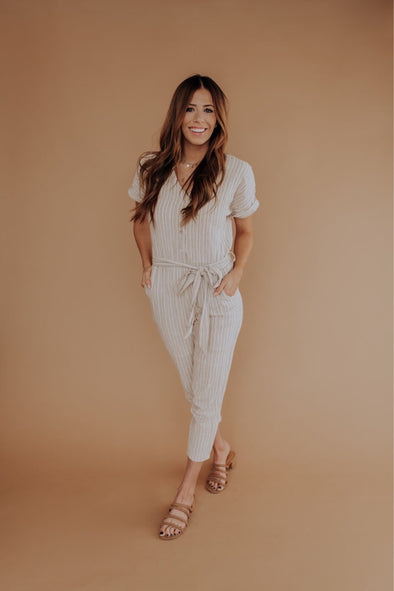 Hampton Linen Jumpsuit