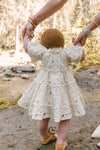 BABY ETTA EMBROIDERED LACE DRESS SET