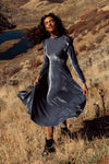 La La Lady Dress In Steel