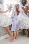 MINI GENEVIEVE DRESS IN LAVENDER