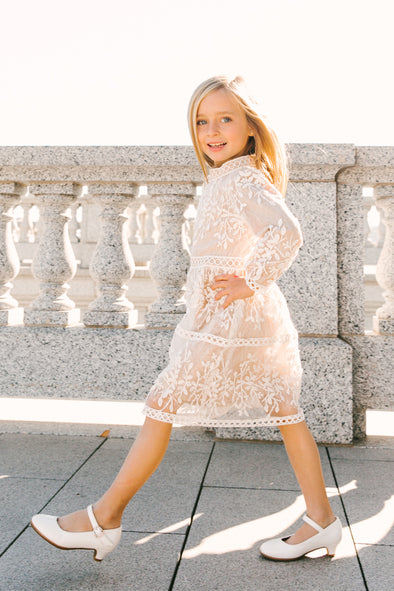 MINI SICILY DRESS With Long Sleeve