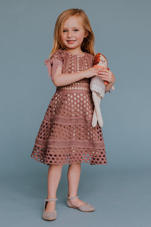 MINI Vera Dress in Mauve