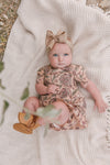 BABY ARYA BLOCK PRINT DRESS SET