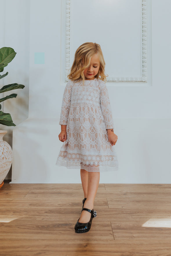 Mini Giovanna Lace Dress