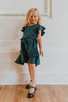 Mini Celeste Satin Dress