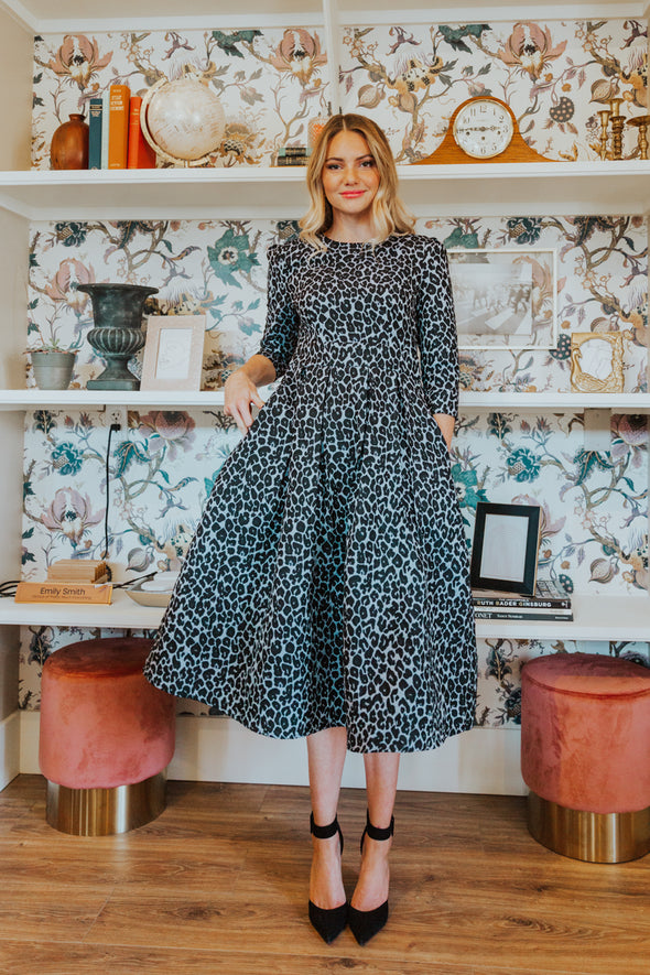 Waldorf Leopard Dress