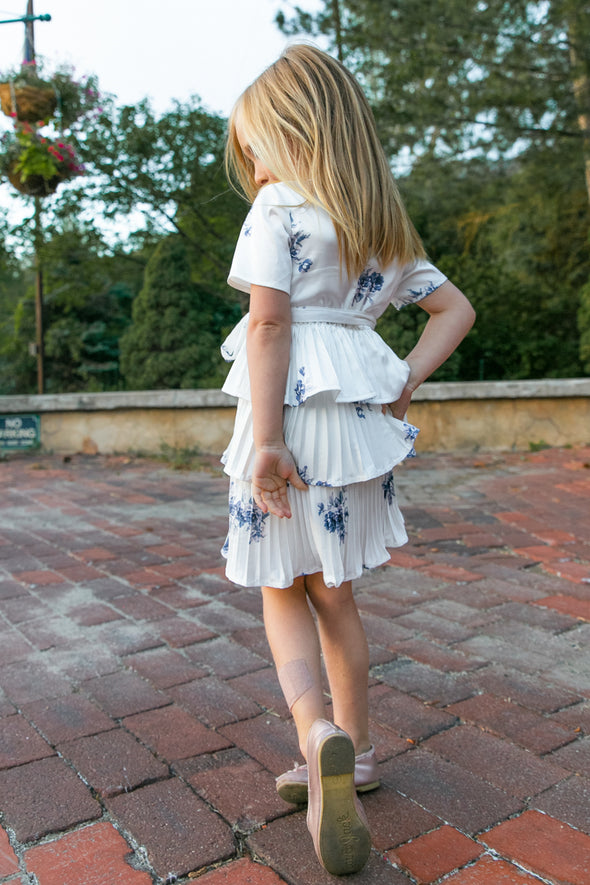 MINI LORRAINE PORCELAIN DRESS