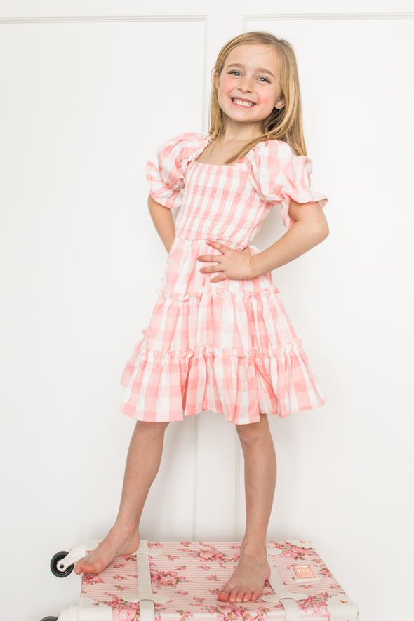 MINI MIA GINGHAM DRESS
