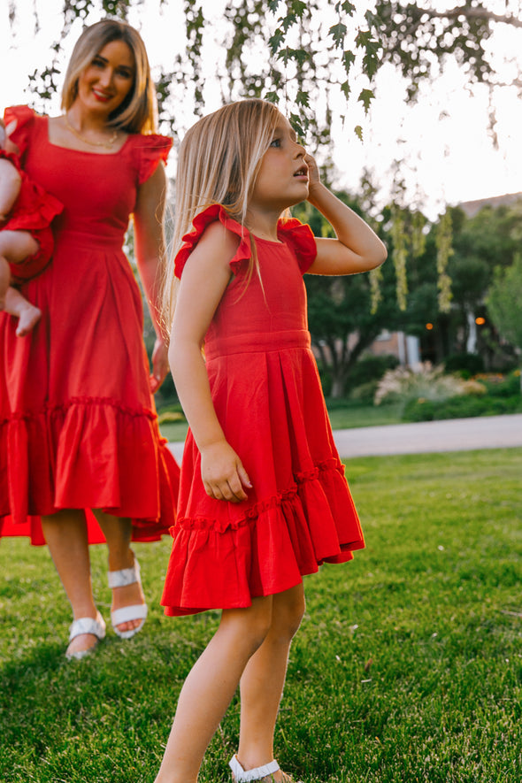 MINI POPPY DRESS