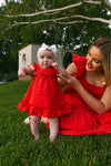 BABY POPPY DRESS SET