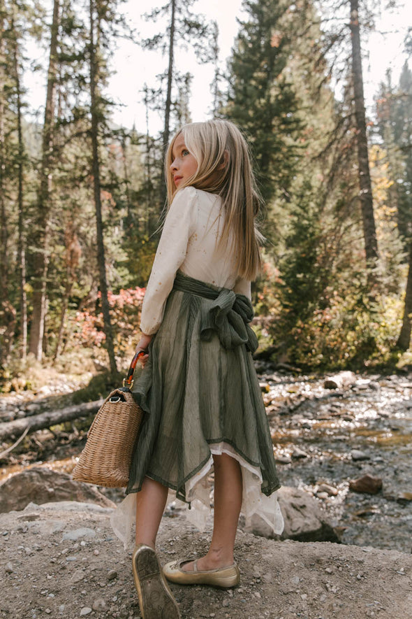 MINI WOODLAND DRESS