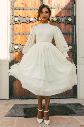 COSETTE TULLE DRESS