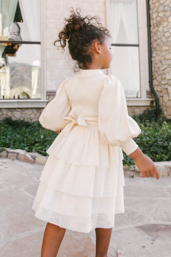MINI COSETTE TULLE DRESS