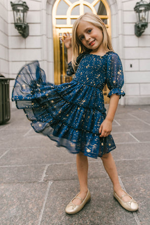 MINI STARRY NIGHTS DRESS