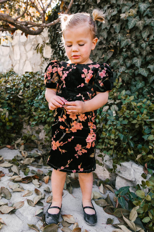 MINI KALEY DRESS IN FLORAL