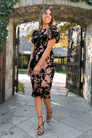 THE KALEY DRESS IN FLORAL