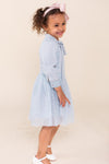 Mini Kate Dress In Blue