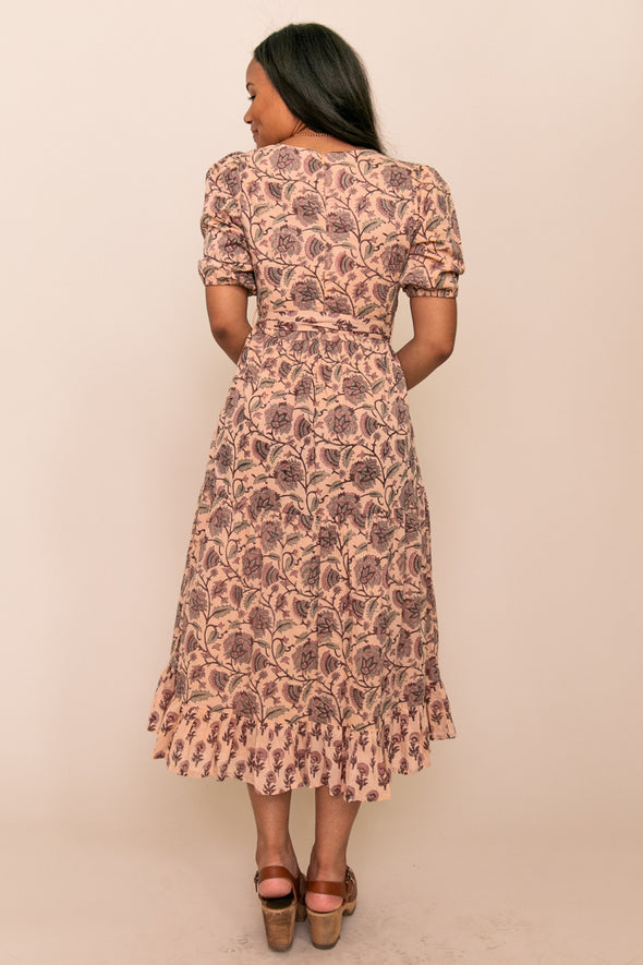 ARYA BLOCK PRINT DRESS