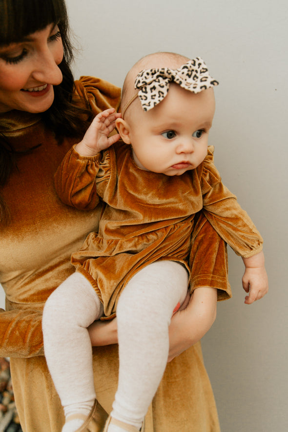 Baby La La Lady Dress in Gold