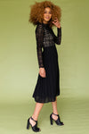 Arabella Lace Dress in Black