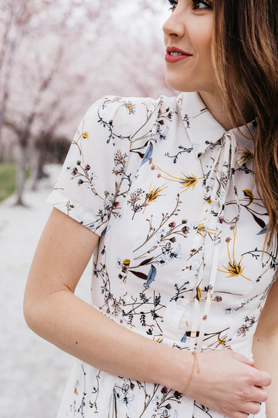 IVY CITY CO: Anna Dress in Spring Floral