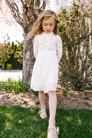MINI ISABELLA LACE DRESS
