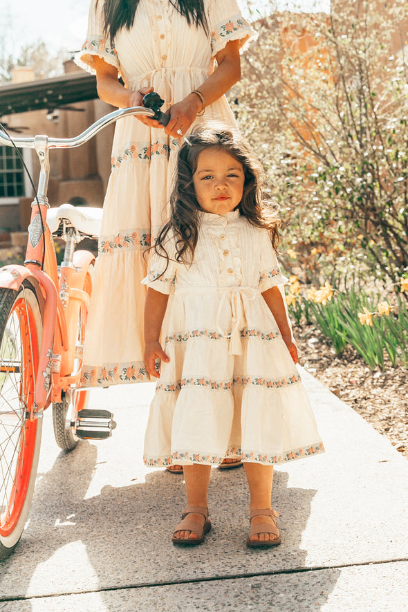 MINI HOLLAND DRESS