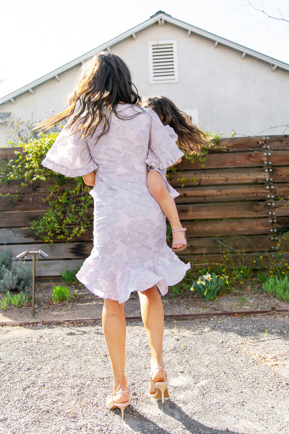 IRIS RUFFLE DRESS