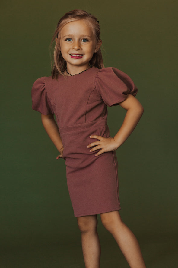 MINI Kaley Munday Dress in Plum