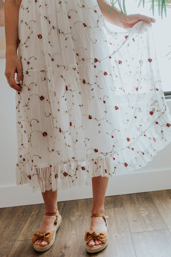 Fayre Embroidered Dress
