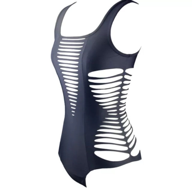 KYLIE SEXY ONE PIECE CUTOUT MONOKINI SWIMSUIT BODYSUIT