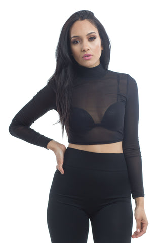THE MYSTYLEMODE BLACK STRAPLESS CORSET MESH DETAIL BODYSUIT