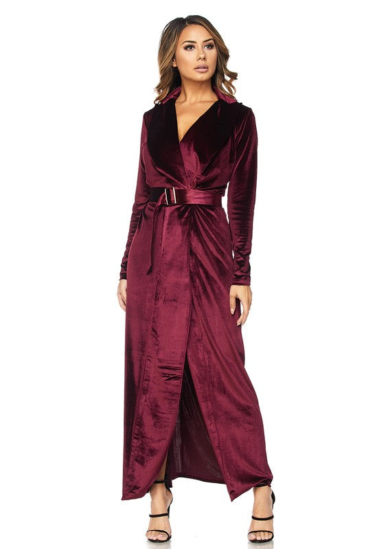 bec89a1e50 THE MYSTYLEMODE WINE ESSENTIAL VELVET DUSTER