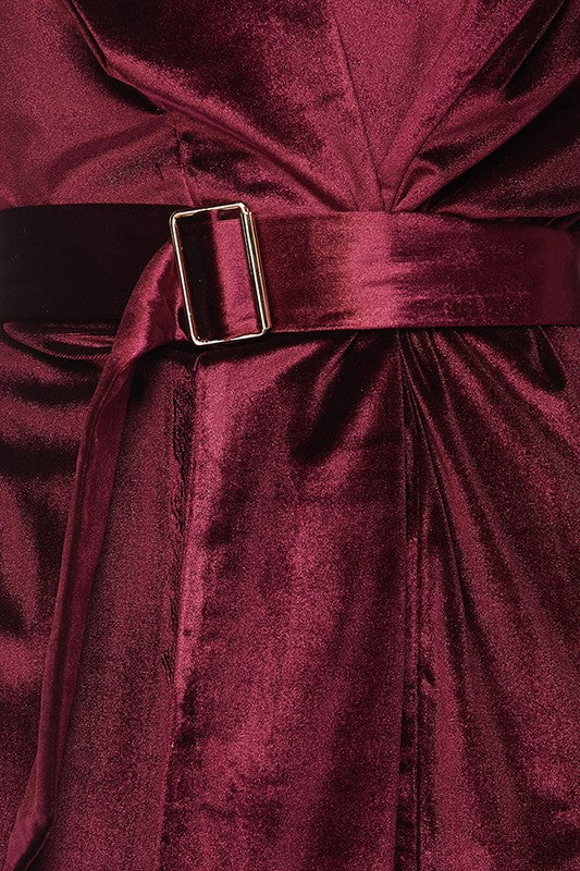 THE MYSTYLEMODE WINE ESSENTIAL VELVET DUSTER