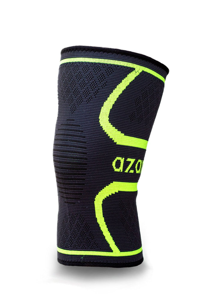 Azani Compression Knee Support Sleeve - Black