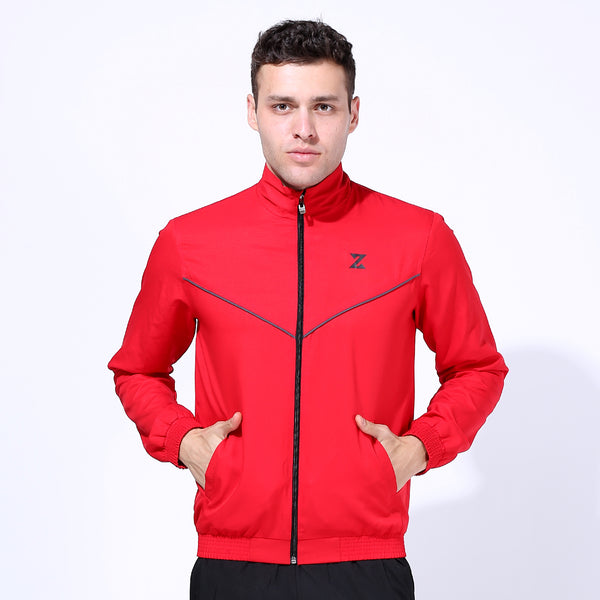 Azani Axis Woven Jacket - Red/Black
